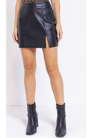 Lexa Leather Skirt