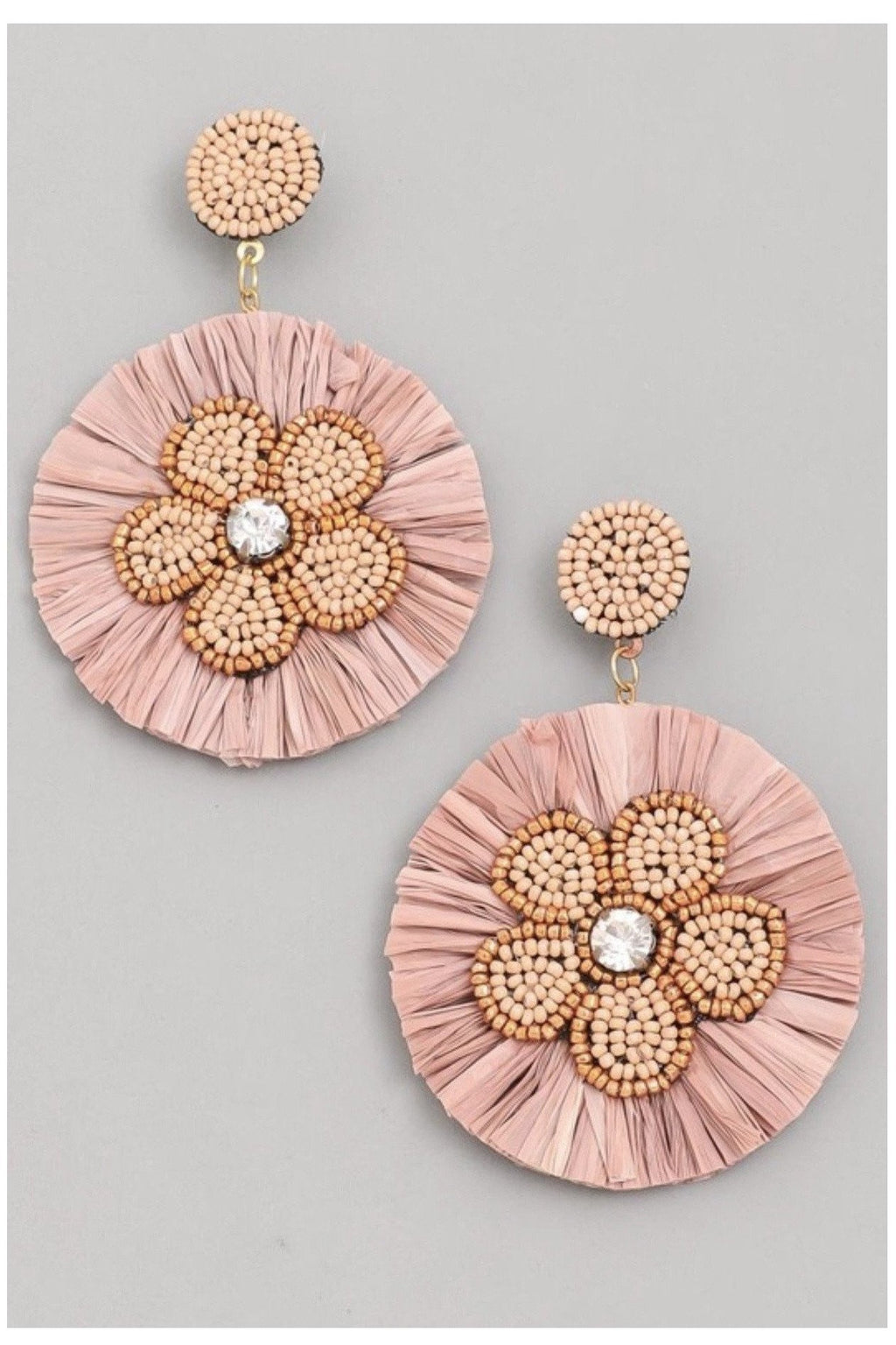 Georgia Peach Earrings - Indigo Closet