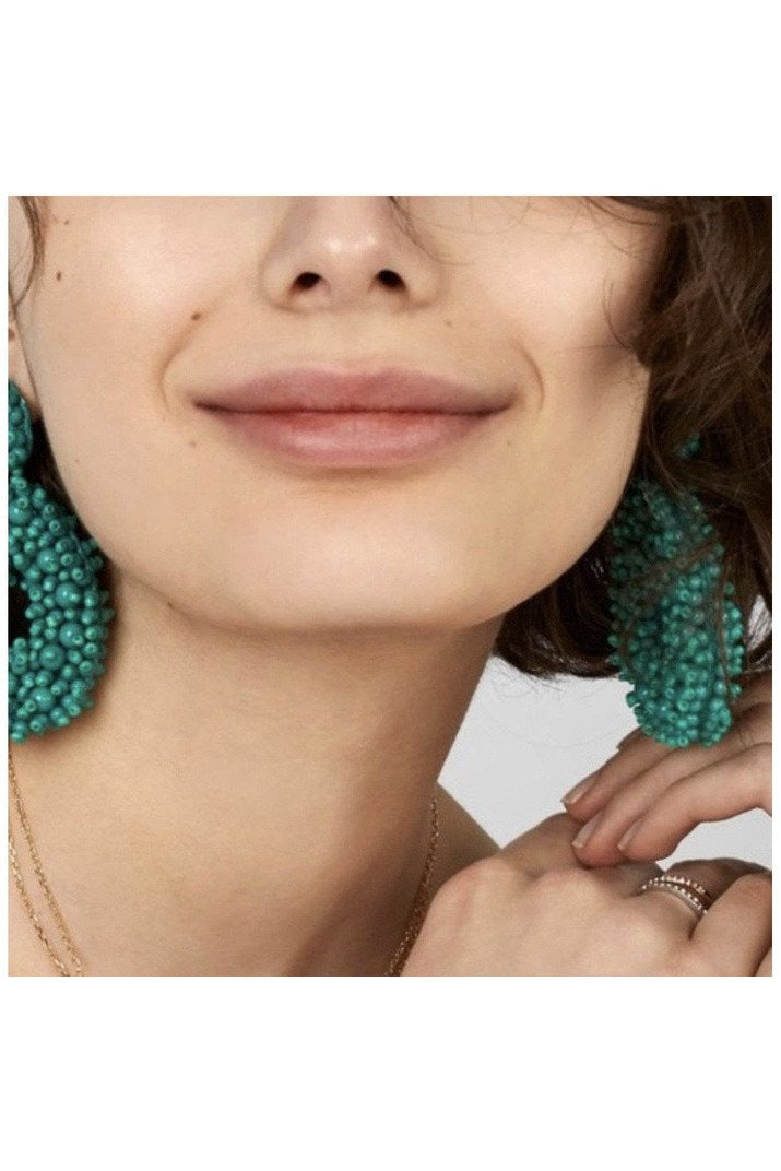 Bryanna Earrings - Indigo Closet