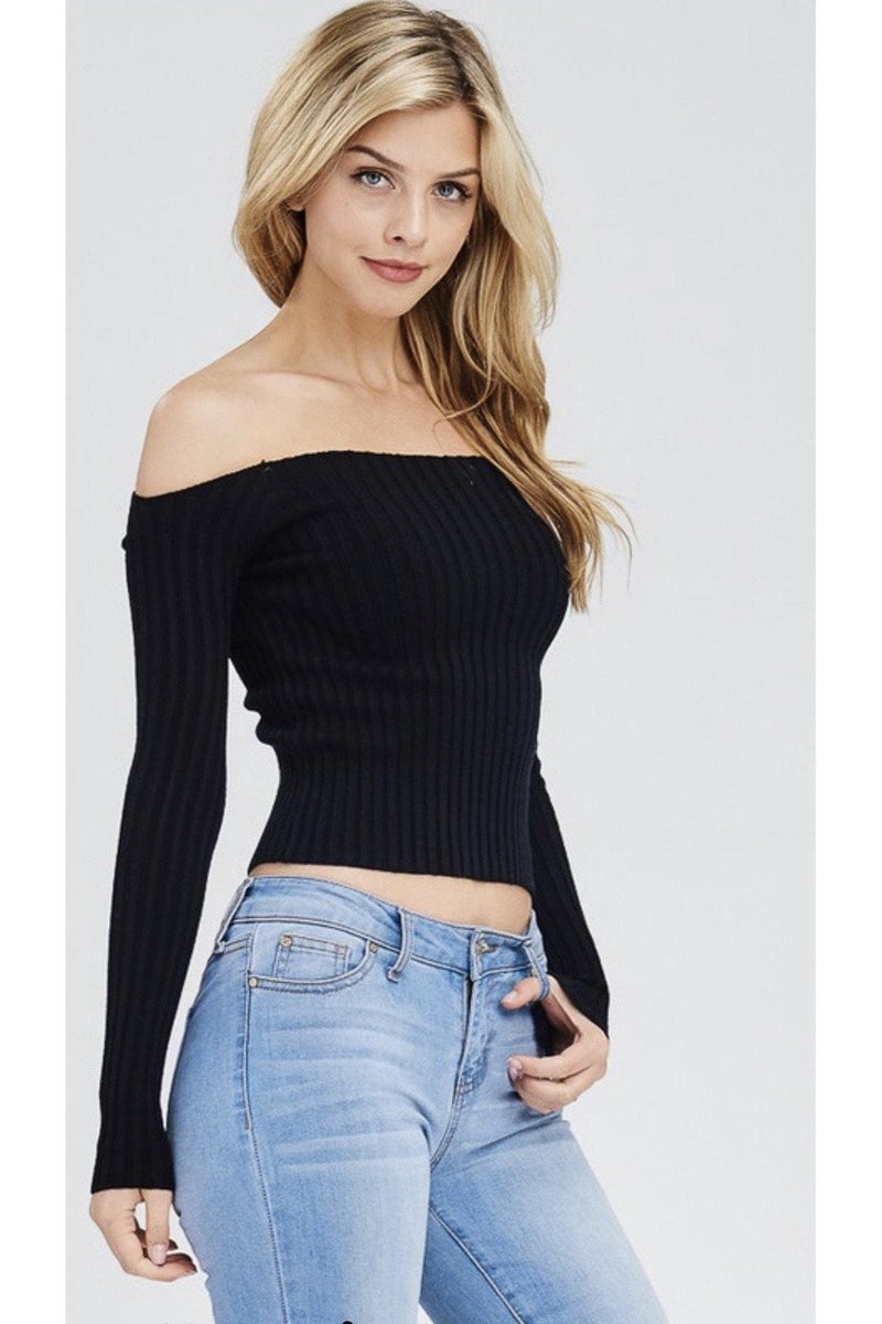 Kelsi Off The Shoulder Top