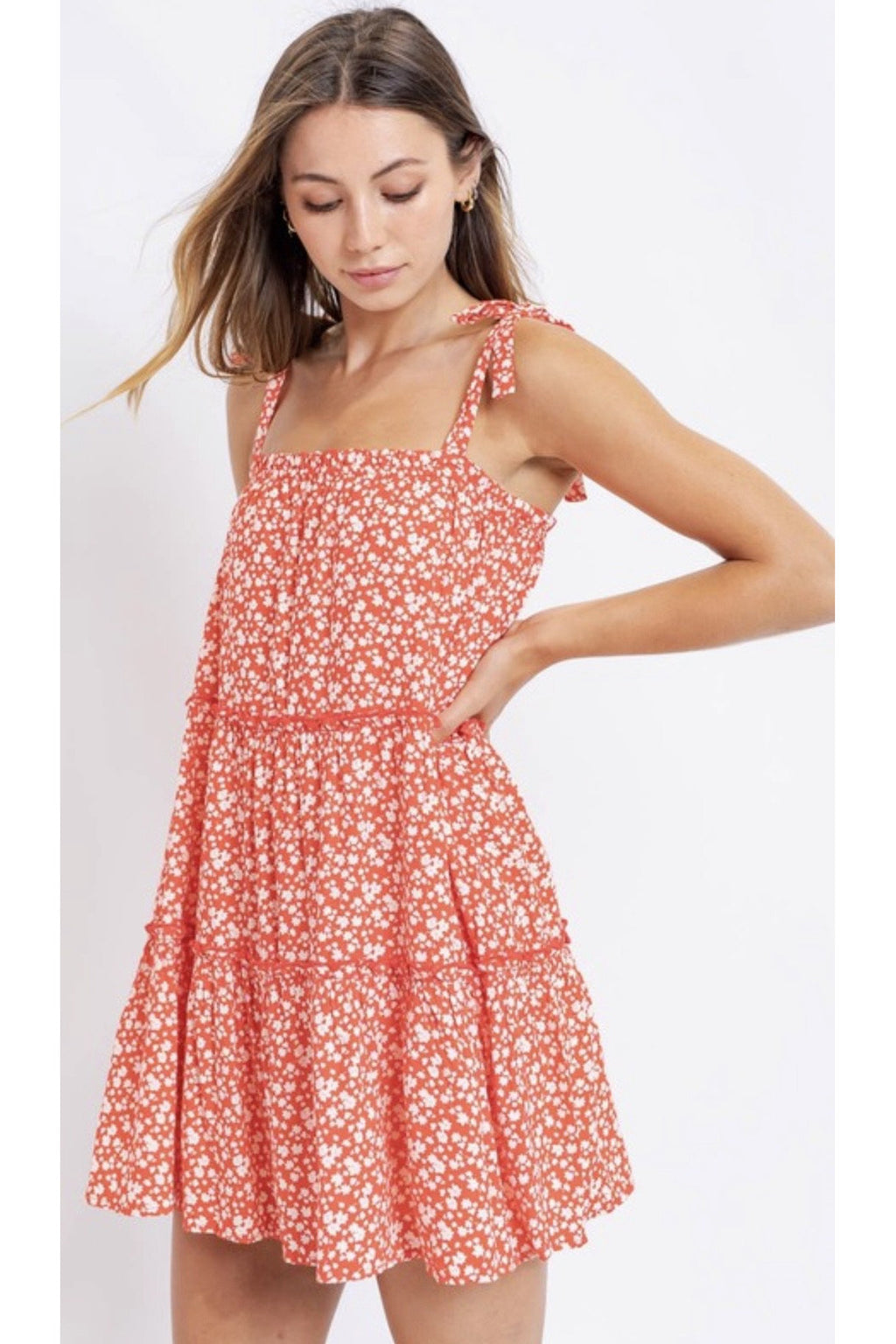 Taylor Tie Top Dress $48