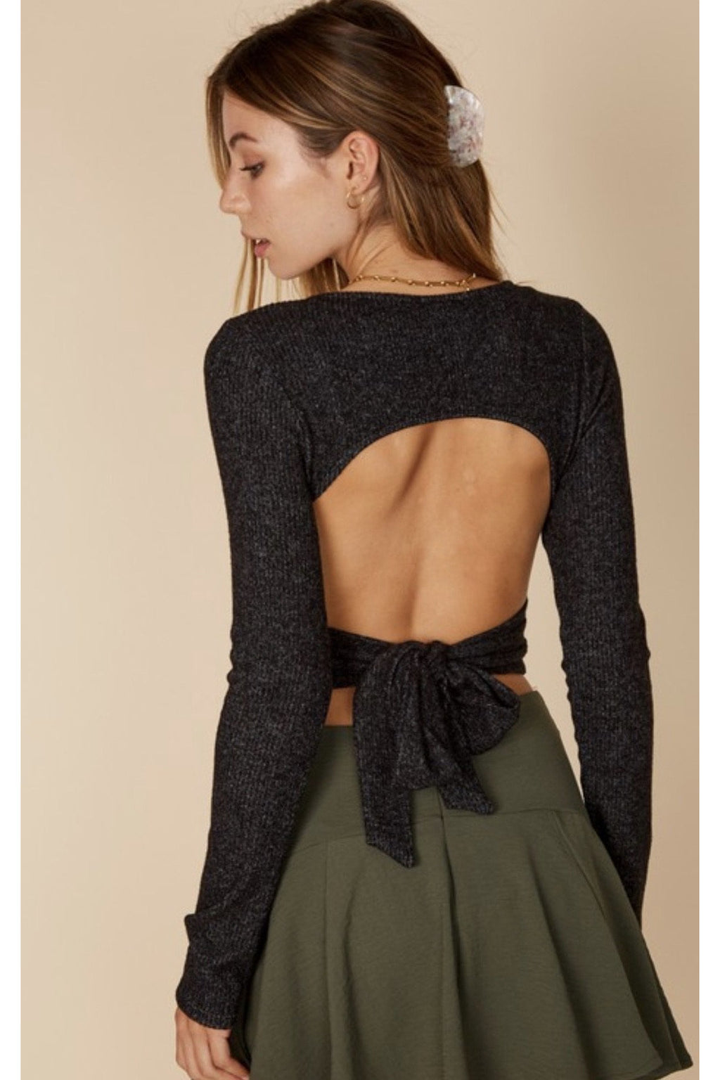 Cassidy Open Back Top $38