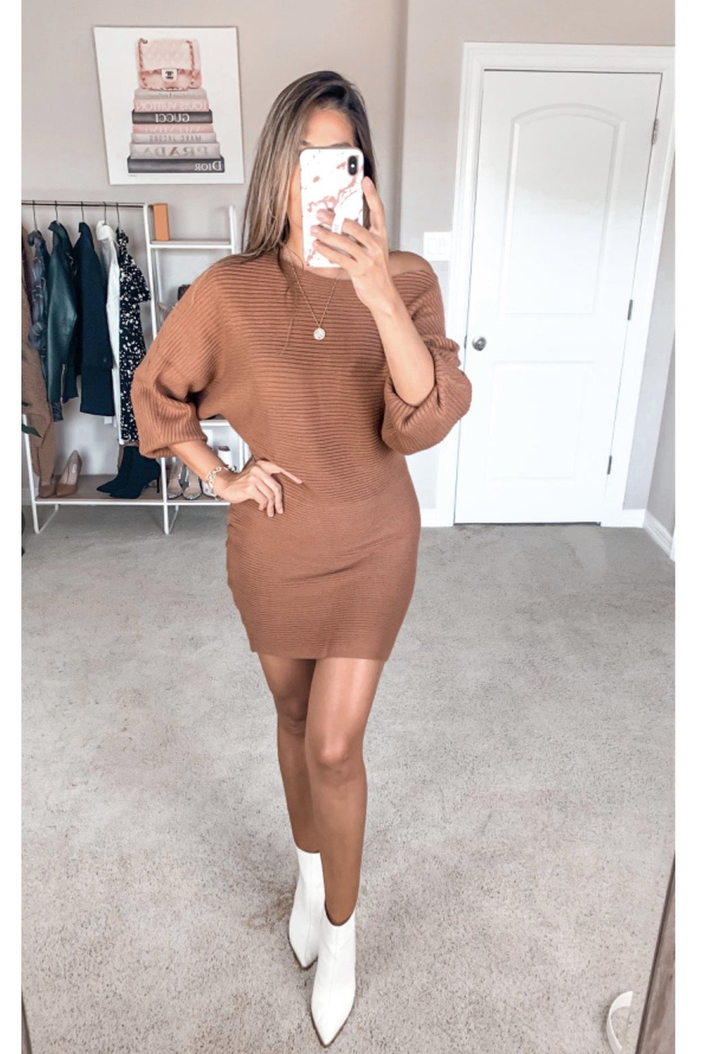 Andrea Dolman Sweater Dress