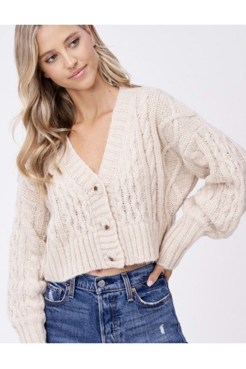 Candice Cropped Sweater