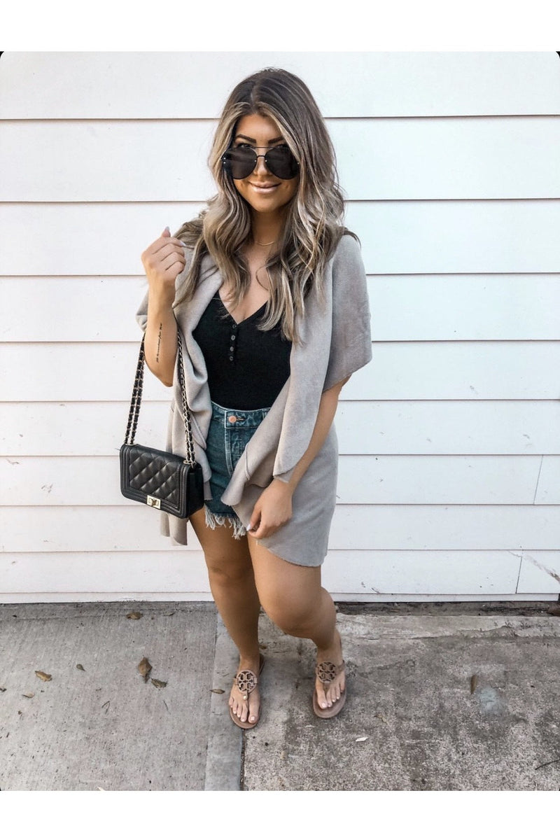 Liz Sleeveless Cardigan