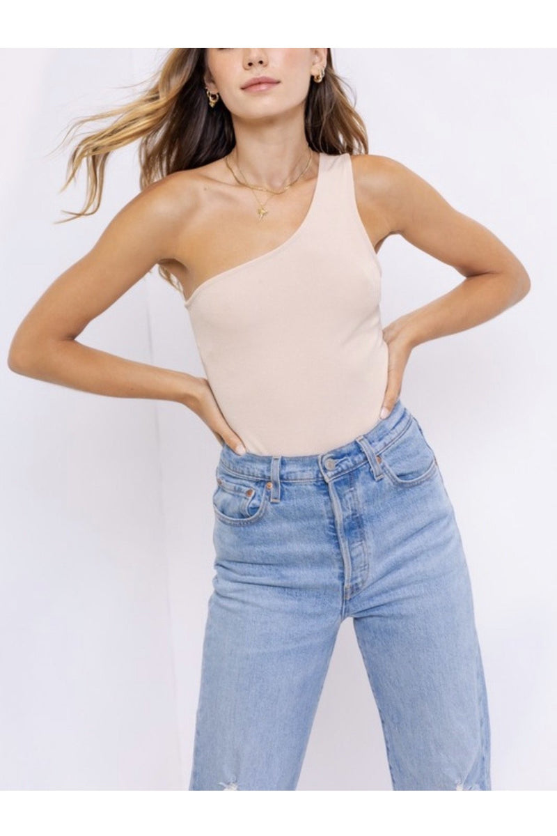 Eleanor One Shoulder Bodysuit