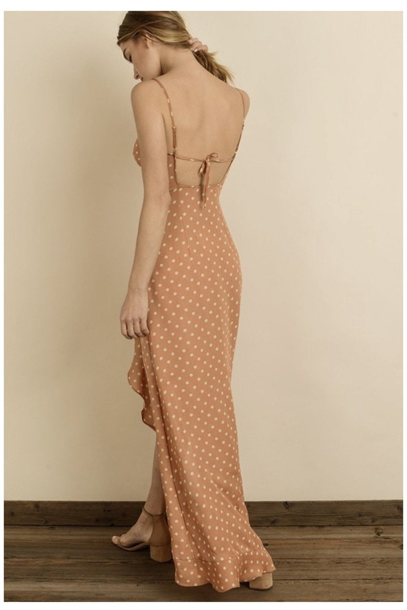 Kassandra Ruffles Maxi Dress