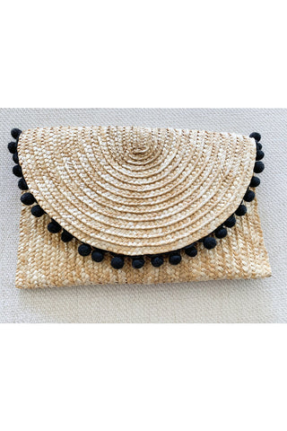 Fiona Clutch in Black