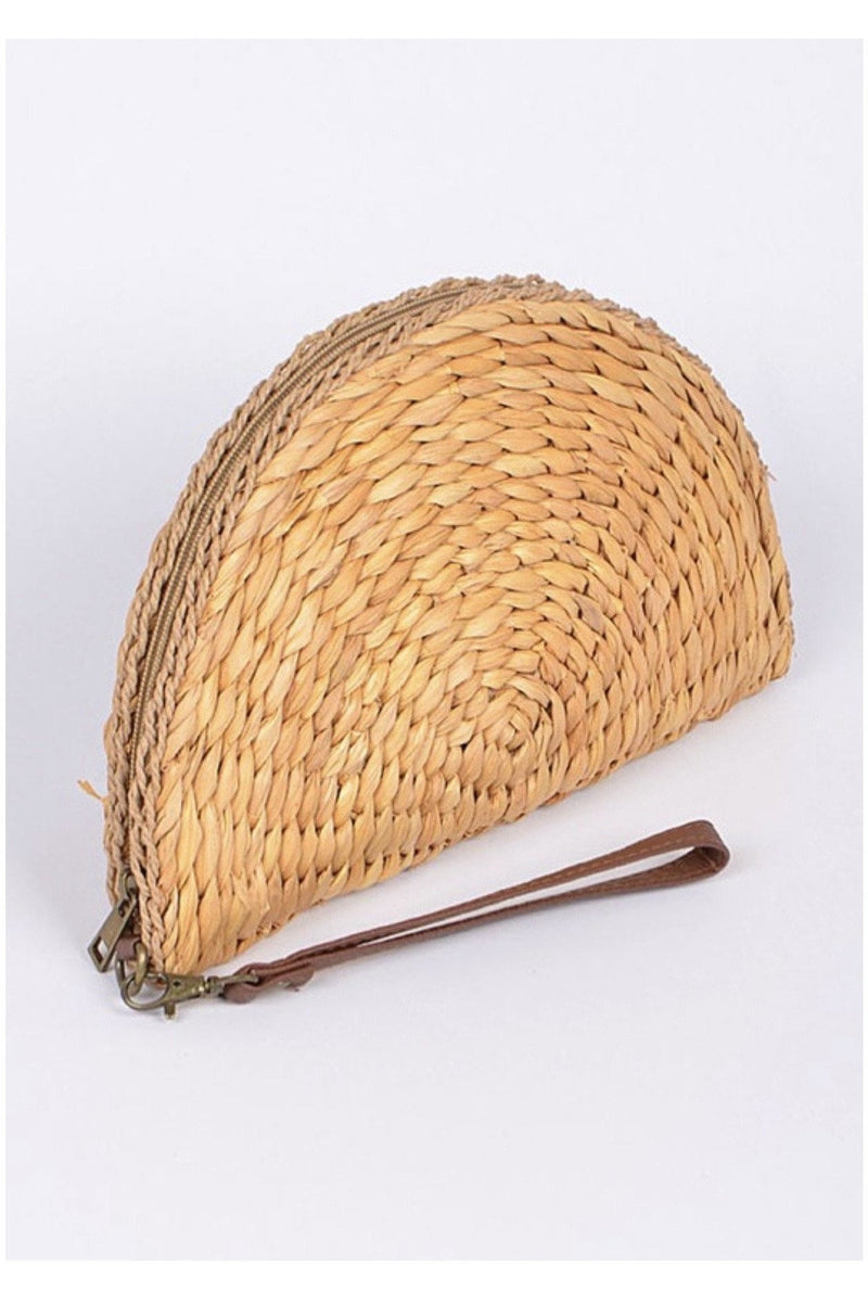 Cute Empanada Straw Clutch