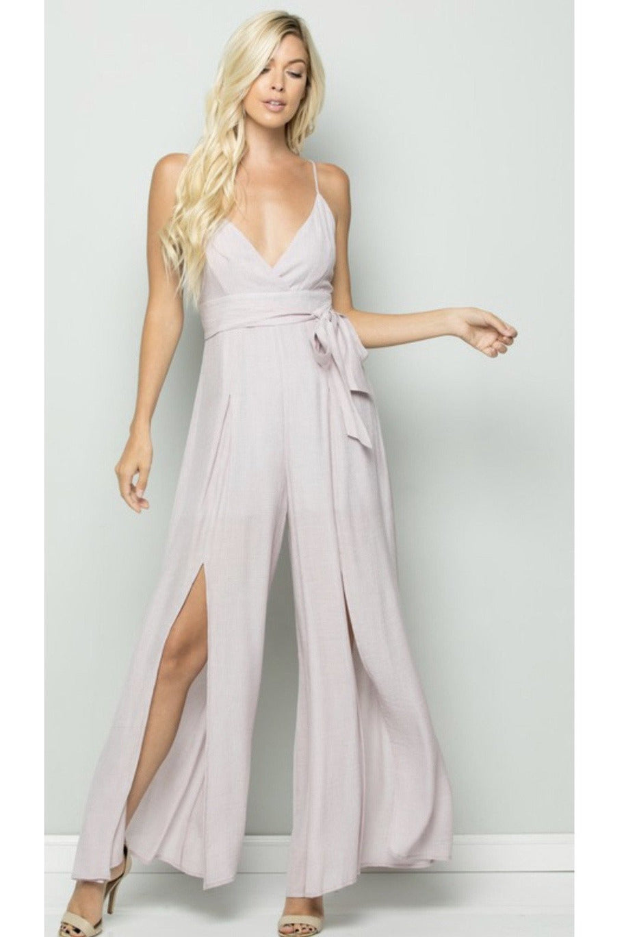 Take Me With You Jumpsuit - Indigo Closet