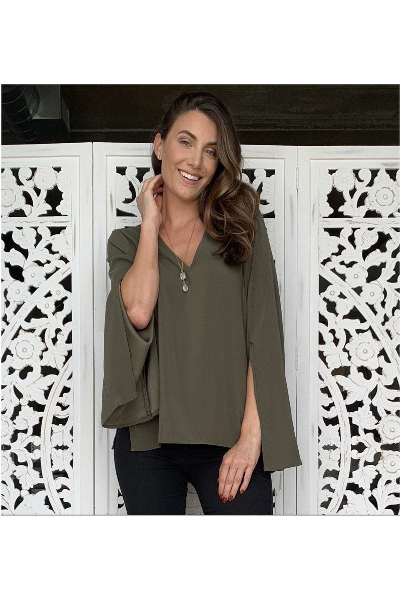 Adrena Split Sleeve Top