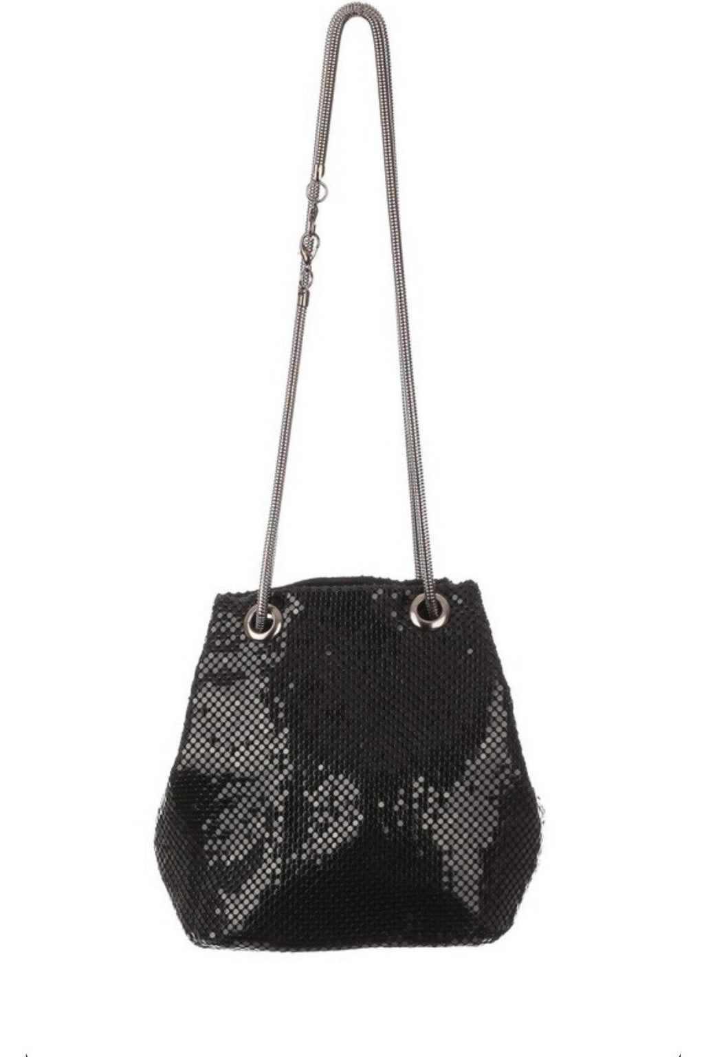 Lights Out Bucket Bag - Indigo Closet