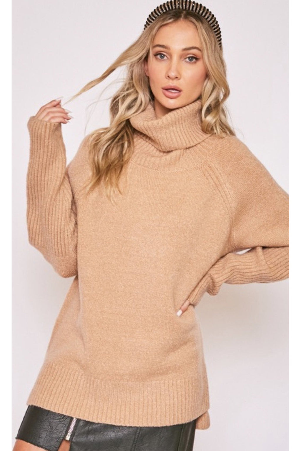 Teddi Tunic Sweater
