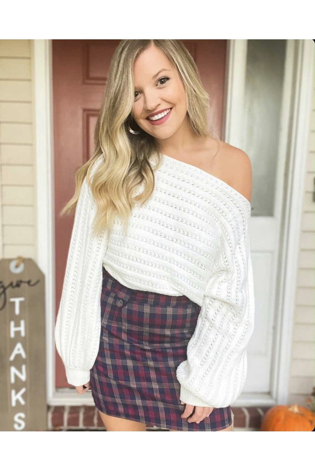 Blake Plaid Skirt