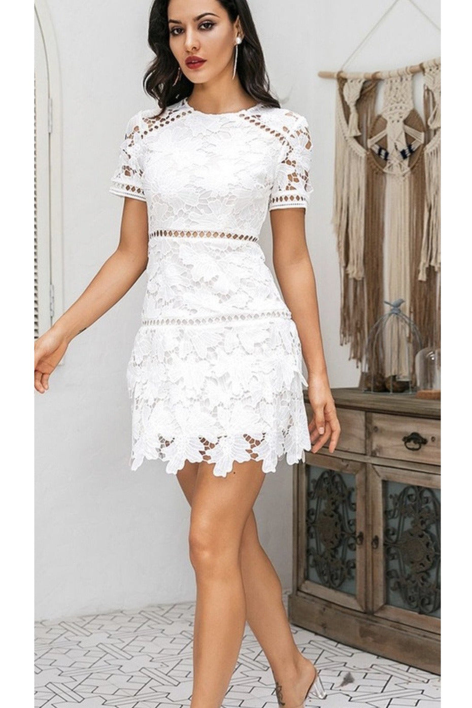 Hartley Crochet Dress