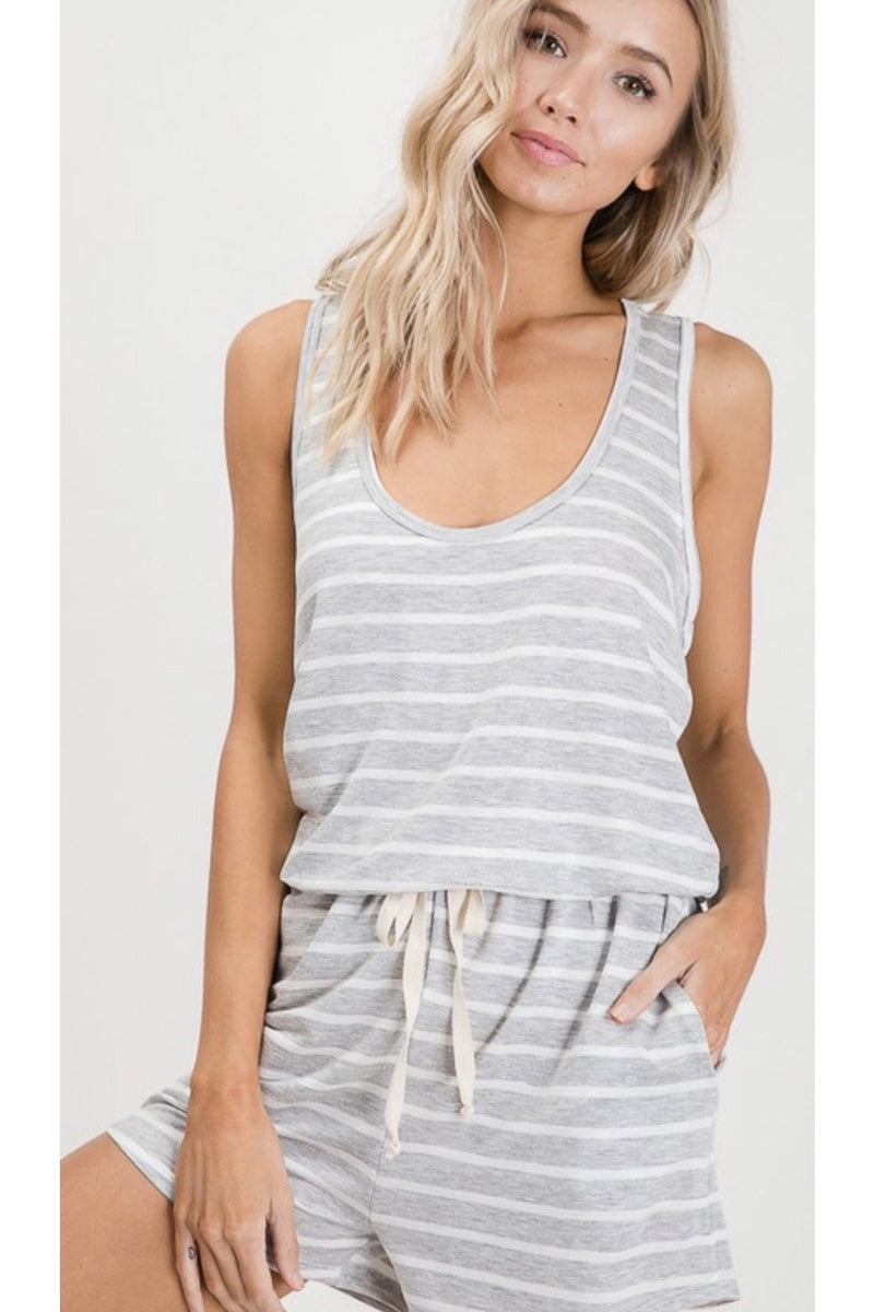 Annabelle Striped Romper