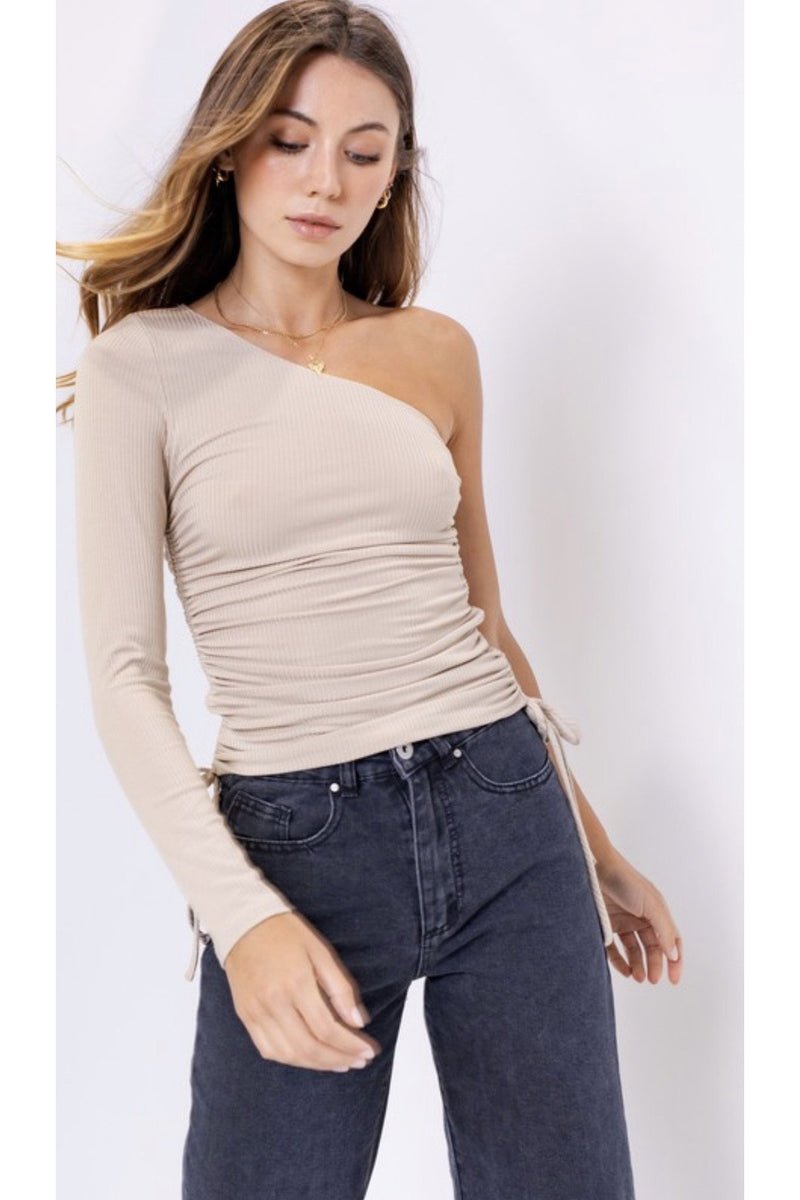 Nova One Shoulder Top