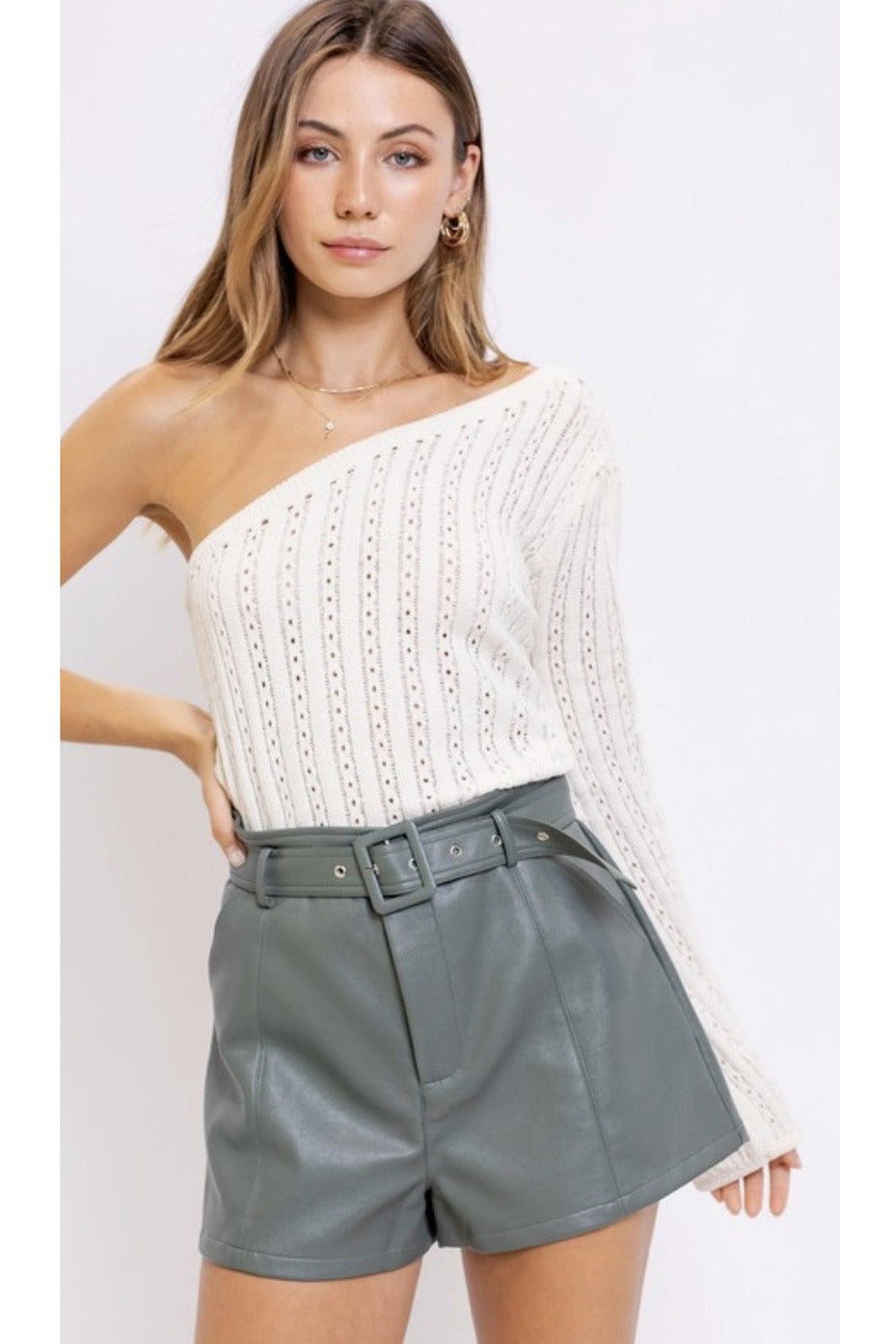 Eliana One Shoulder Top