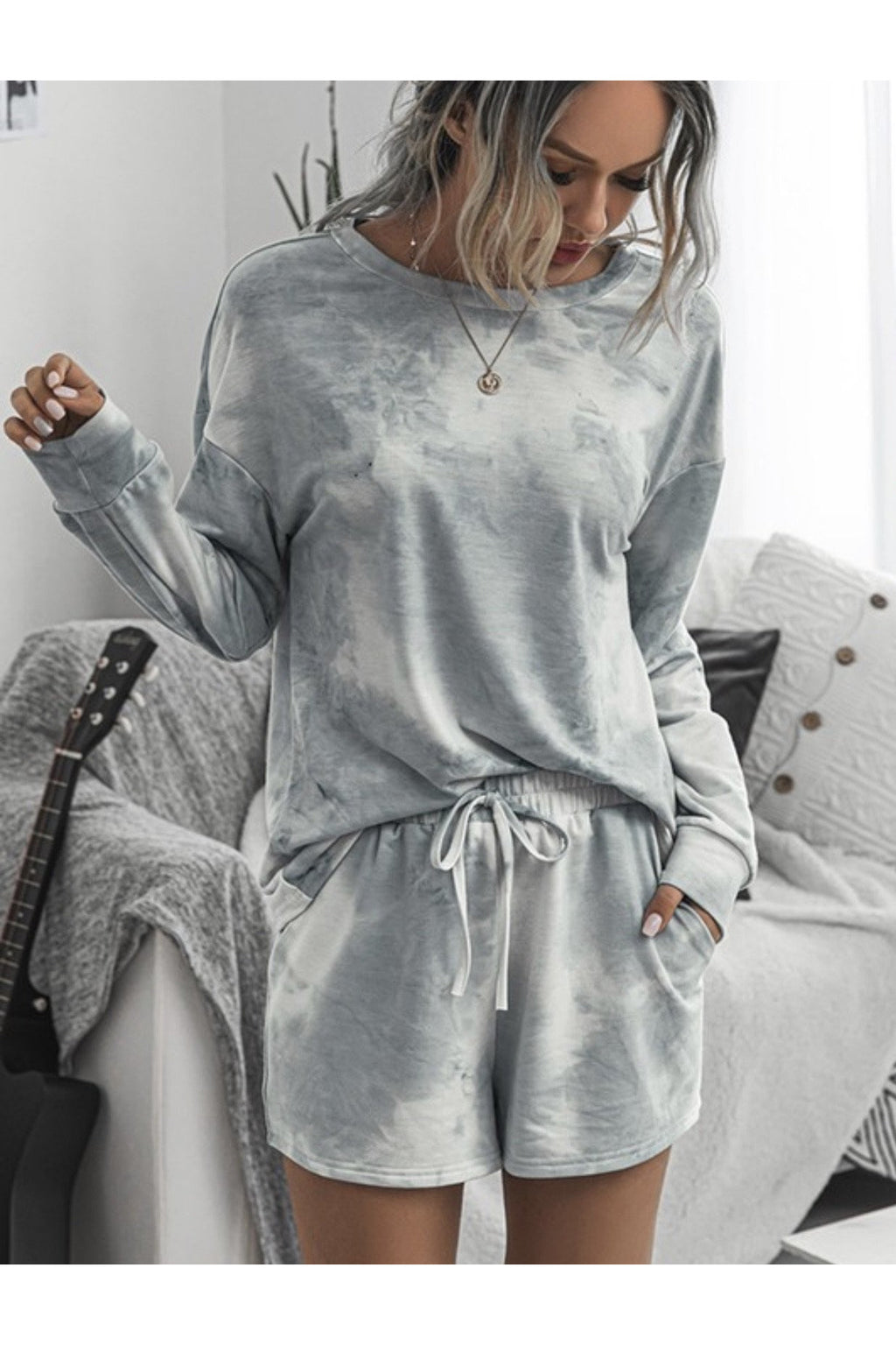Kit Two piece Set in Grey