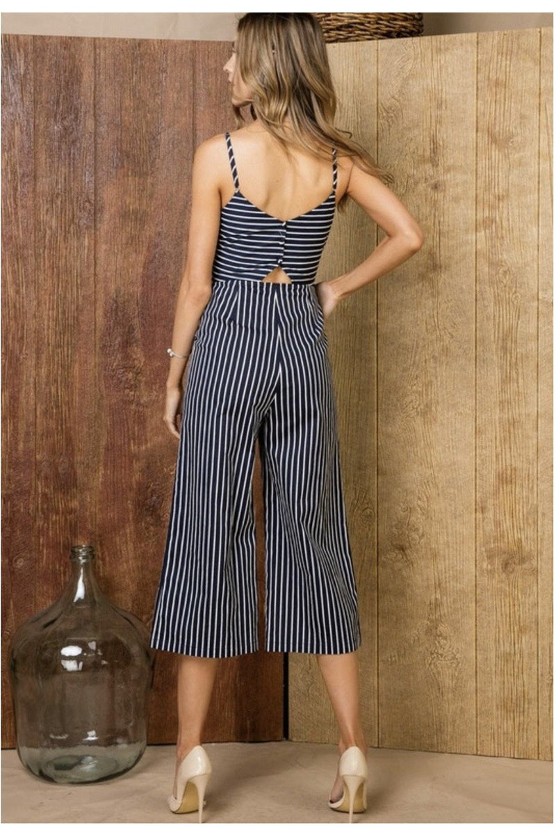 Kayla Cropped Jumpsuit