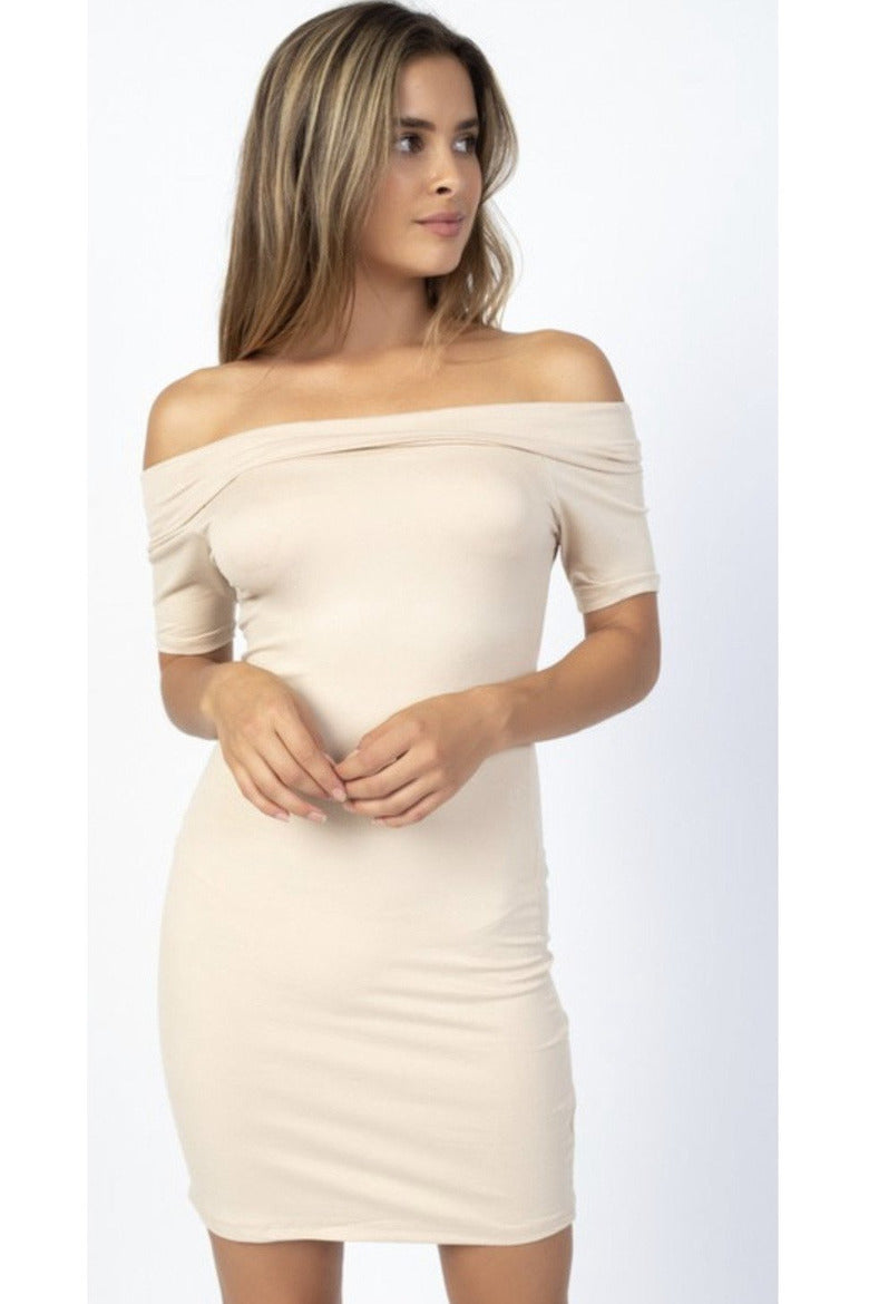 Raquel off the shoulder Dress