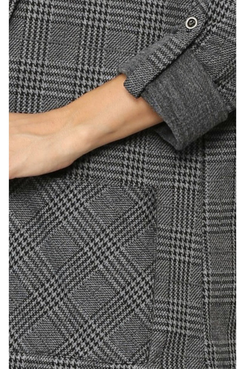 Jocelyn Plaid Blazer
