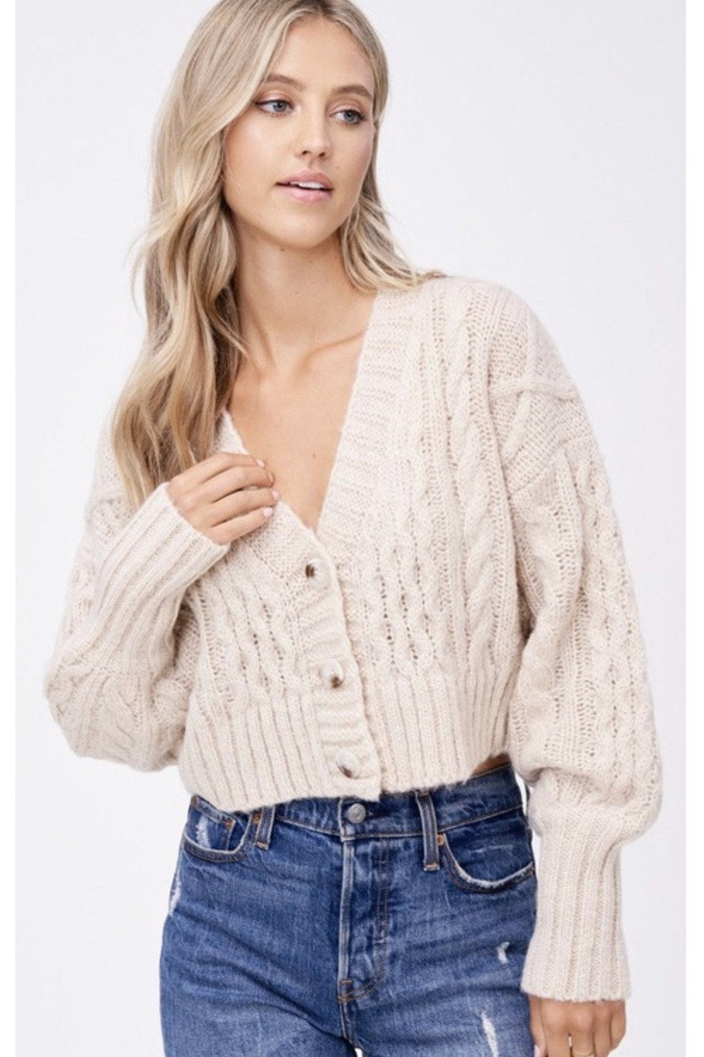 Candice Cropped Sweater $58