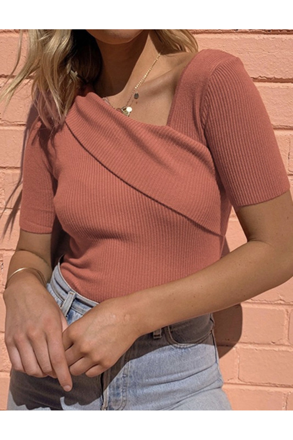 Lala Cross Top