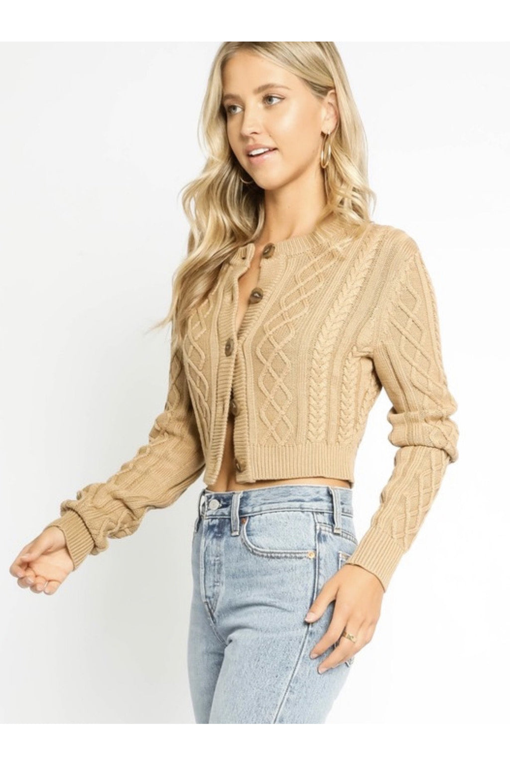 Caitlin Cropped Cardigan