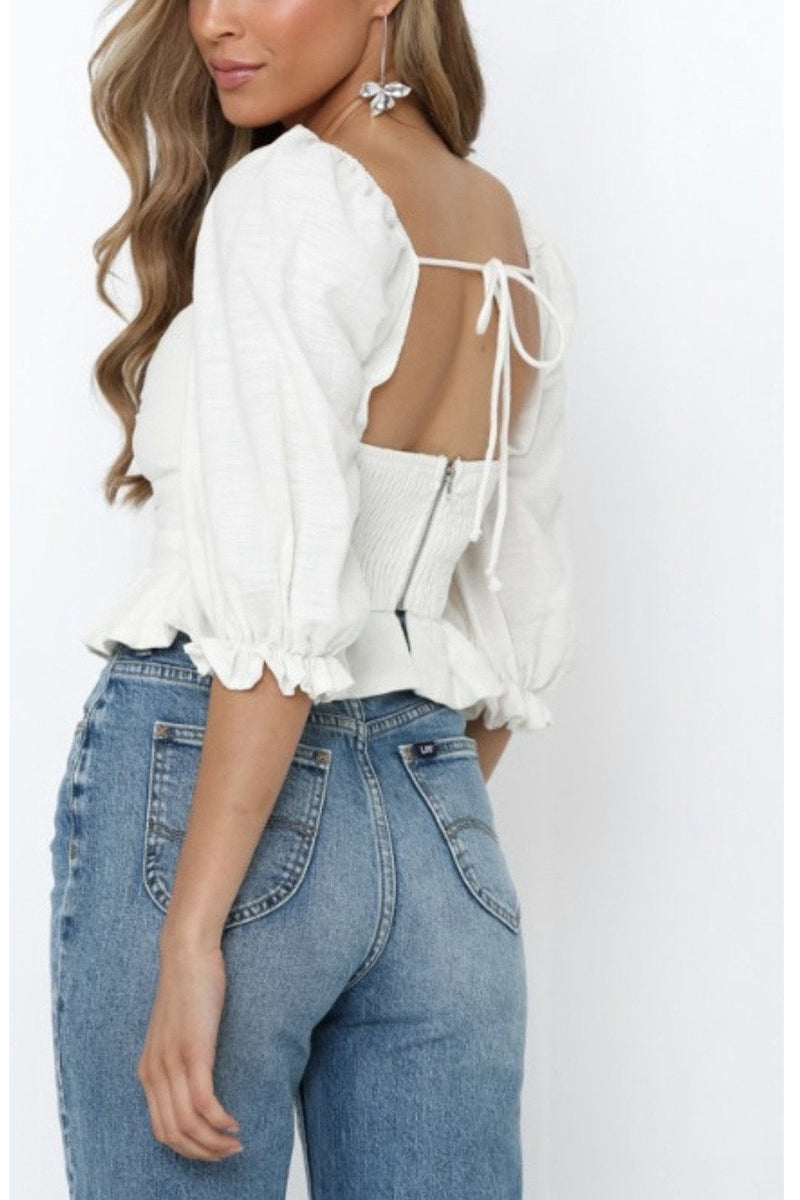 Brinley Bow Top $58