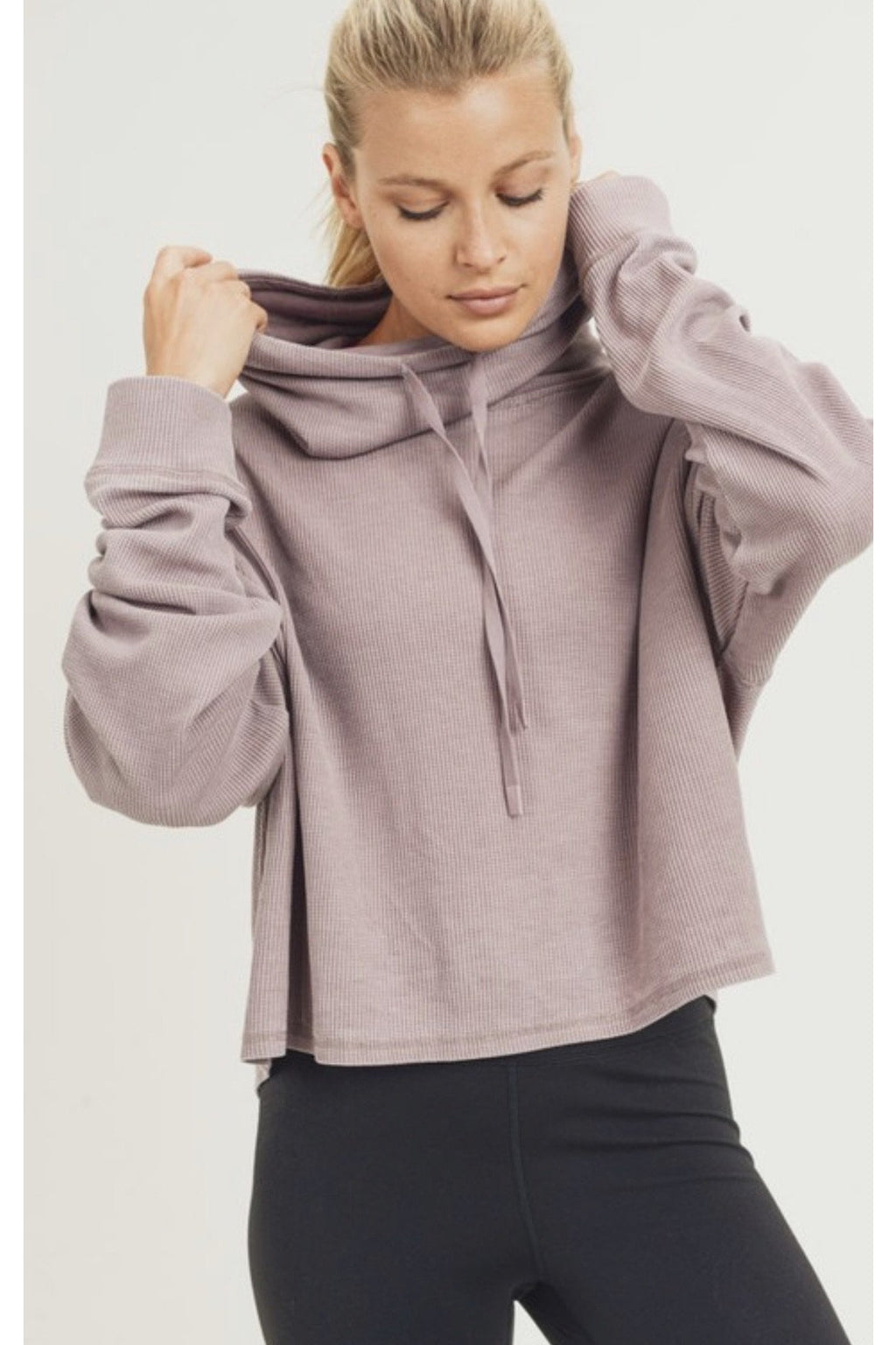 Kendra Cropped Sweatshirt $38