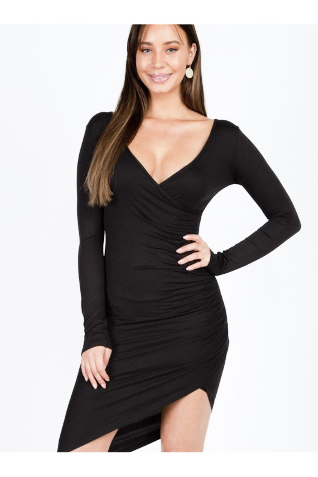 Yoli Shirred Bodycon