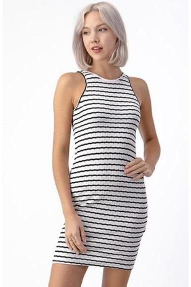 Cailtin Tank Dress in White $36
