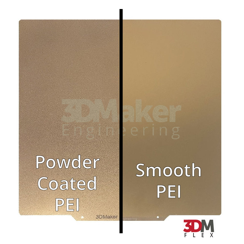 3DM Flex+™ Powder Coated PEI Flex Build Plate w/ Magnetic Base