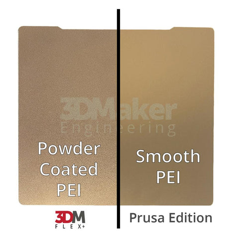(B-Stock) 3DM Flex+™ Powder Coated PEI Flex Build Plate w/ Magnetic Base