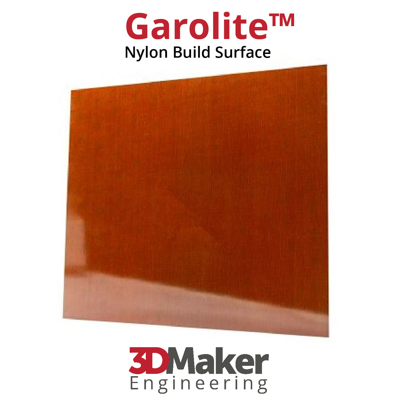 Garolite 3D Printer Build Plate