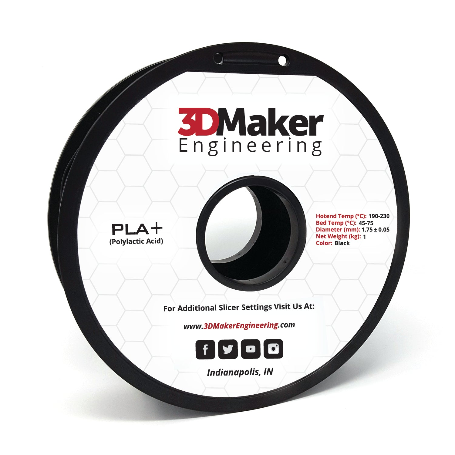 PLA+ Pro Series 3D Printer Filament 1.75mm