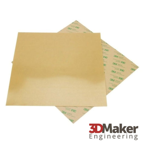 PEI Build Plate Sheet w/ 3M Adhesive (14 mil Thick)