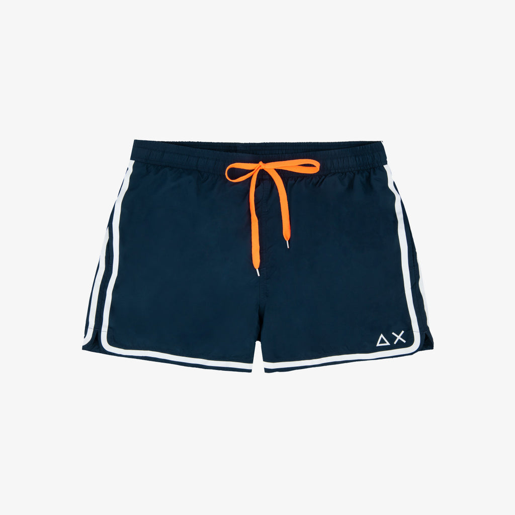 Swim Pant Side Band / Blu