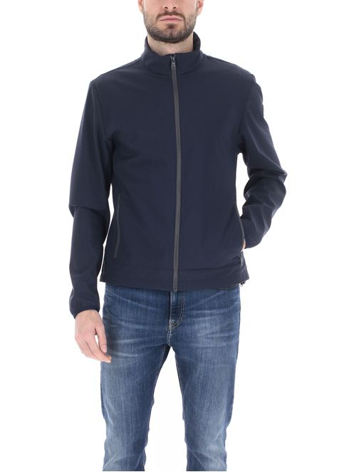Giacca softshell / Blu - Ideal Moda