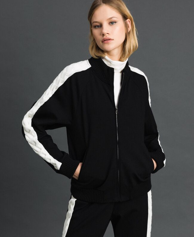 TP2120-BOMBER / Nero - Ideal Moda