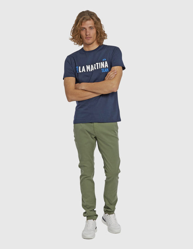 T-shirt uomo regluar fit / Blu - Ideal Moda