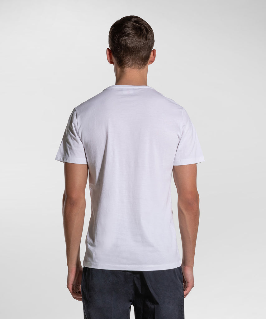 T-Shirt con Stampa / Bianco