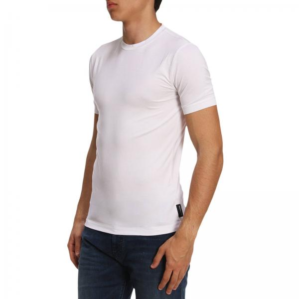 T-Shirt in jersey stretch / Bianco - Ideal Moda