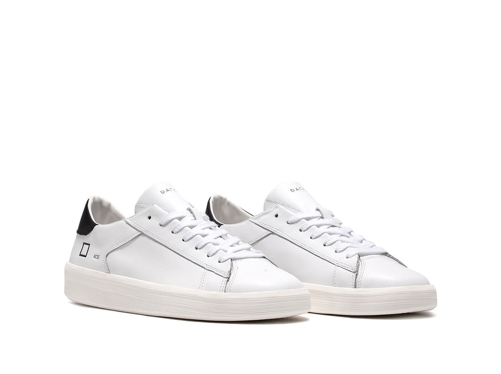 Sneaker bassa in pelle ace calf / Bianco - Ideal Moda