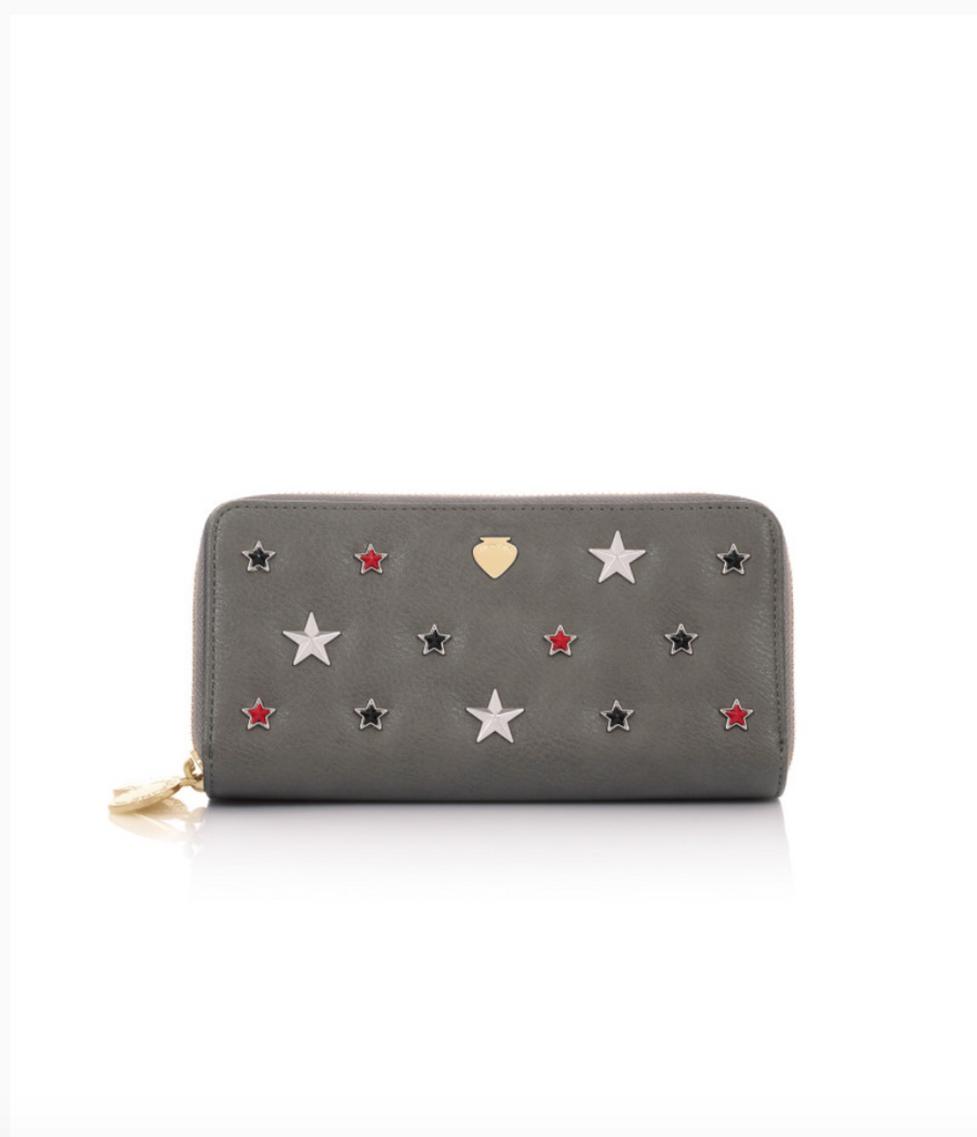 DAD02383-WALLET STAR / Grigio