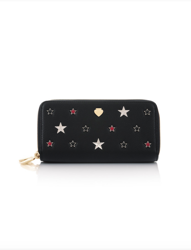 DAD02383-WALLET STAR / Nero