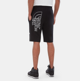 Pantaloncini uomo graphic light / Nero