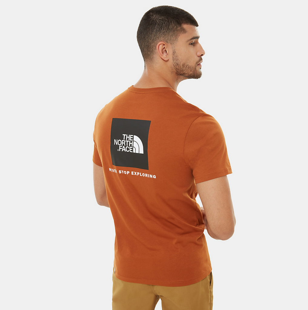 T-Shirt uomo redbox / Beige - Ideal Moda
