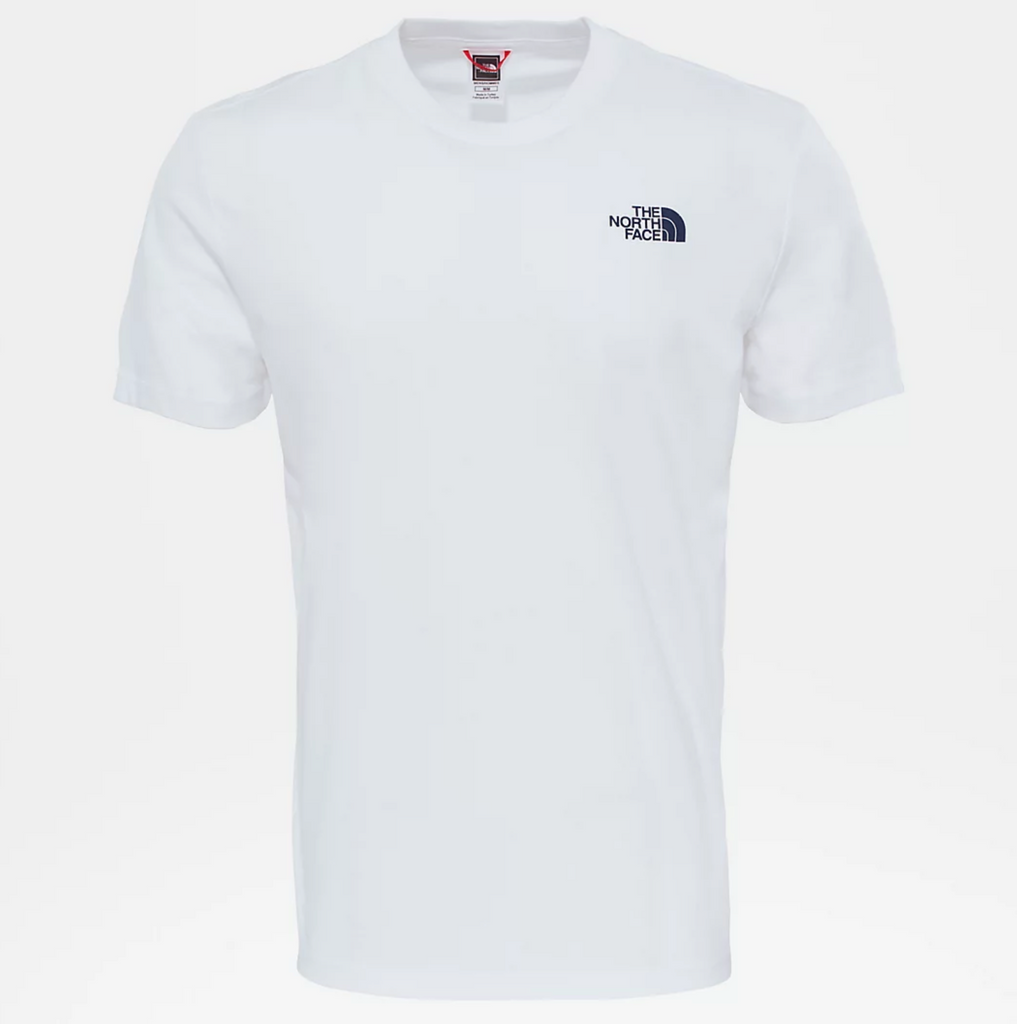 T-Shirt uomo redbox celebration / Bianco - Ideal Moda